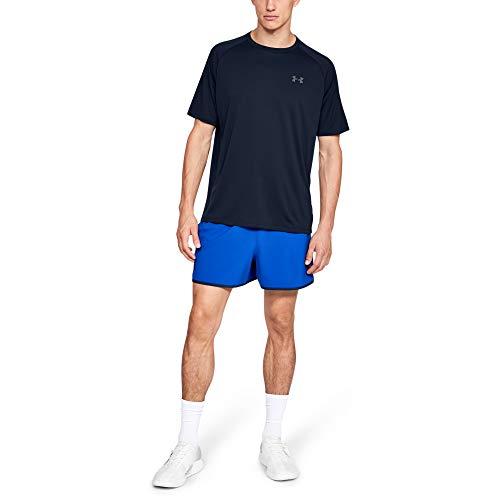 Under Armour Men's Tech 2.0 Short-Sleeve T-Shirt , Academy Blue (408)/Graphite , XX-Large