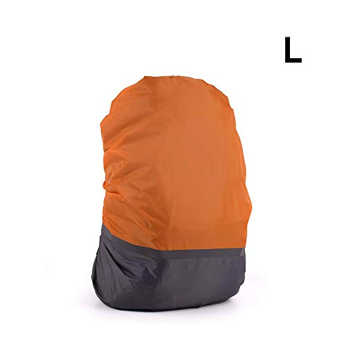 HITECHLIFE Large Rucksack Rain Cover 20-70L, Shower Proof Backpack Protection, Packed in a Bag Rainproof Cover, Ripstop drawstring bag -For travelling, Walking