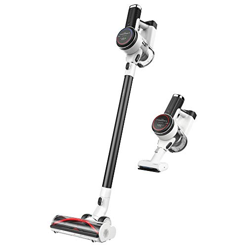 Tineco Pure ONE S12 Smart Cordless Stick Vacuum, 500W Motor for Strong Suction on Carpets & Pet Hair, Sensor Technology Optimizes Power and Runtimes – Matte Black