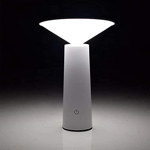 Palillo de carga inalámbrico de la lámpara de escritorio LED Regulable sin cables. El brillo se puede ajustar en el dormitorio, en la mesa de café del salón y en la lámpara de noche con pantalla tácti