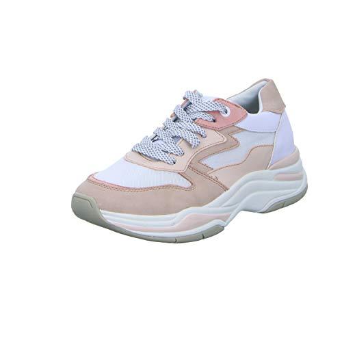 TOM TAILOR Damen 6995105 Sneaker, Mehrfarbig (White-Rose 00177), 39 EU