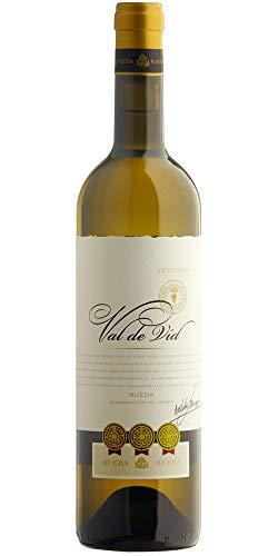 Vino Blanco Val de Vid Verdejo Caja 6 Unidades Rueda 75cl
