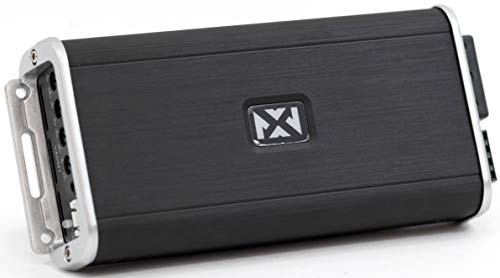 NVX VADM1 500W RMS Class D Monoblock Car/Marine/Powersports Micro Amplifier with Bass Remote