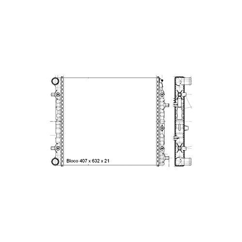 Magneti Marelli RMM698001M, Radiador Expandido