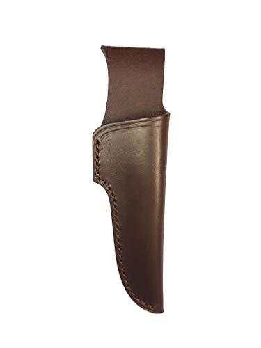 BiMordiscos 1e kwaliteit rundleder hoes (vaars). Traditionele behandeling - Leren schede voor mes