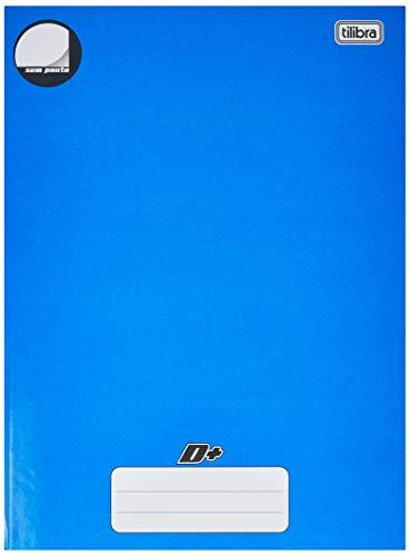 Tilibra D+ - Caderno Brochura Capa Dura, 200x275mm, 96 Folhas, Azul