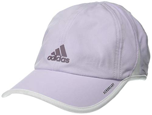 adidas Women's Superlite Relaxed Adjustable Performance Cap, Purple Tint/Legacy Purple/White, ONE SIZE