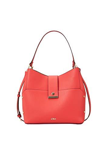 s.Oliver (Bags Damen 39.904.94.2054 Henkeltasche Rot (Red)