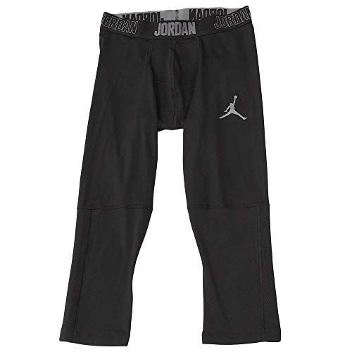 Nike Herren Sport Trousers M J 23 Alpha Dry 3/4 Tight, Black/(Dark Grey), XS, 892246