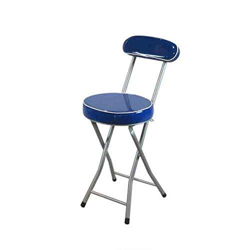 Huoqiin klapstoel kan de eetkamerstoel op kantoor worden gedragen om buiten te leren, glanzend aan de achterkant van het huis.