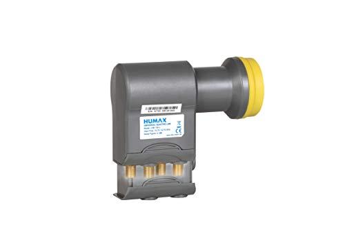 HUMAX Digital LNB 106s-B Quattro 4 uscite (1-multiswitch, custodia stagna, 40 mm alimentazione) 0,1 db Rumore