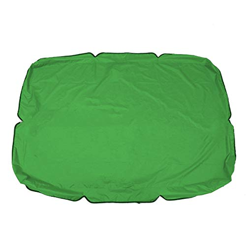 Hollywoodschaukel-Überdachung für 2/3-Sitzer, Ersatzbezug für Garten/Terrasse/Außenbereich, wasserdicht, UV-beständig, verschiedene Größen und Farben erhältlich