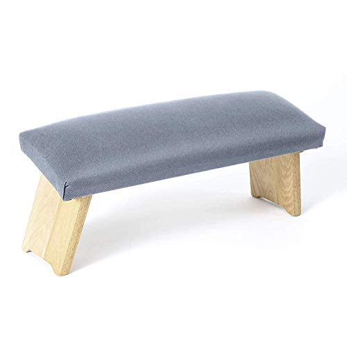 Lotuscrafts Meditation Bench Dharma Foldable - Made in Europe - Yoga Benchtop Made of Wood - Kneeling Meditation Bench for Deep Meditation
