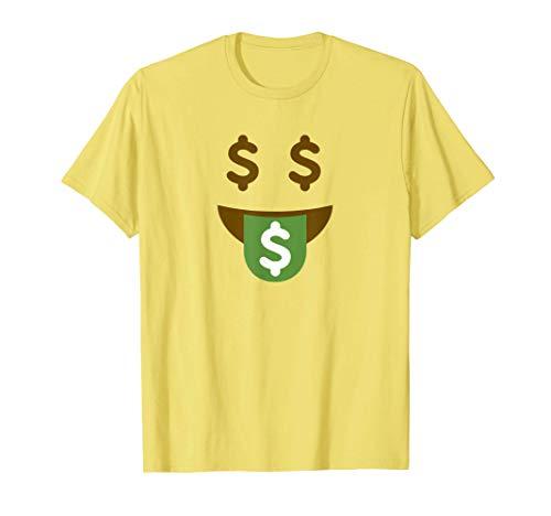 Disfraz de Halloween de Rich Emoji Disfraz de grupo de Emoji Camiseta