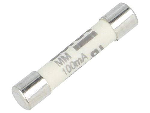 F 6.3A Eska Lote de 10 fusibles r/ápidos 250/VAC cristal 5/x/20/mm