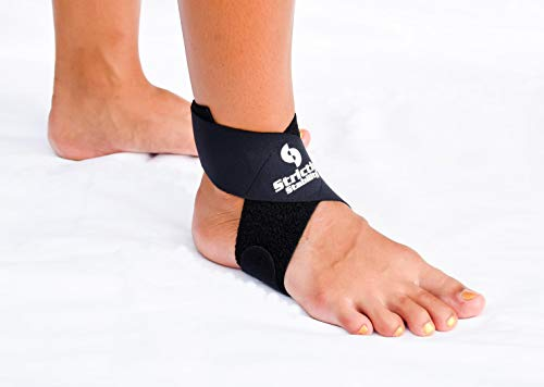 StrictlyStability Achilles Tendonitis Support Strap Brace (Regular)