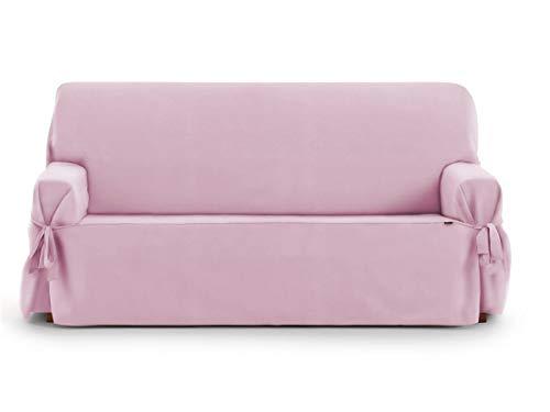 Lanovenanube Eysa - Funda sofá Universal Levante - 2 plazas - Color Rosa C02