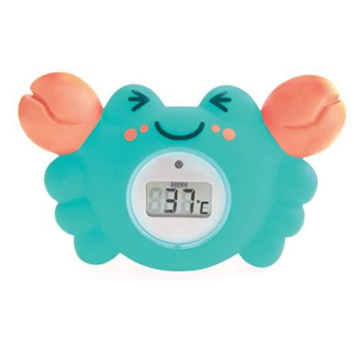 TIGEX Thermomètre de bain digital Crabe pour bébé