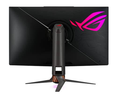 ASUS ROG Swift PG32UQX 81,28cm (32 Zoll) Ultimate Gaming-Monitor (4K UHD (3840 x 2160), 144 Hz, IPS, Mini LED, lokale Helligkeitssteuerung, Quantum-Dot-Technologie, DisplayHDR 1400, 4ms)