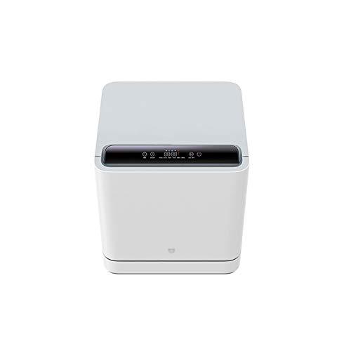 CLING Mini-Tischgeschirrspüler,75 ° C Hochtemperatursterilisation, 6 Waschmodi,freistehend, Installationsfrei