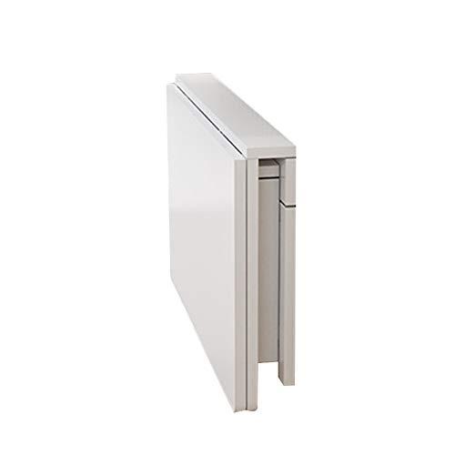 PENGFEI Tisch Wandtisch Wand-Klapptisch Tische Laptop Schreibtisch Mehrzweck Küchenregal Studie Wohnzimmertisch Lager 55kg, 8 Größen (Farbe : Weiß, größe : 60x40CM)