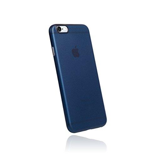 hardwrk Ultra-Slim Case - kompatibel mit Apple iPhone 6 und 6s - matt blau - ultradünne Schutzhülle Handyhülle Cover Hülle in deep sea Blue