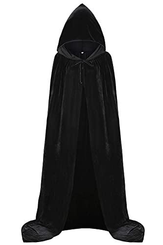 Capa Negra Con Capucha  marca Aricy
