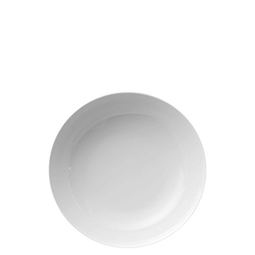 4 x Suppenteller 22 cm - Thomas Medaillon Weiß - 10700-800001-10322