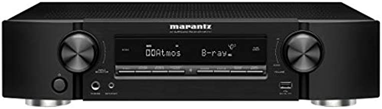 Marantz NR1711 8K Slim 7.2 Channel Ultra HD AV Receiver (2020 Model) – Wi-Fi, Bluetooth, HEOS Built-in, Alexa & Smart Home Automation - 8K HDMI Videos & Multi-Room Streaming