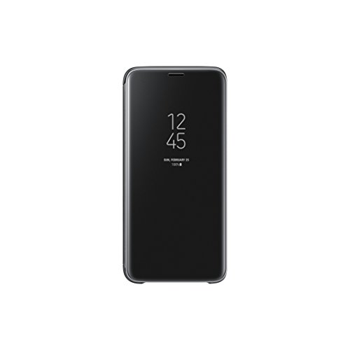 Samsung Galaxy S9 Clear View Standing Cover, Nero