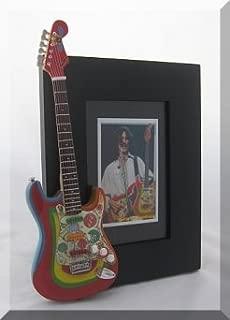GEORGE HARRISON Miniature Guitar Photo Frame Rocky