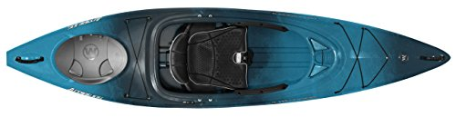Wilderness Systems Aspire 105 | Sit Inside Recreational Kayak | Adjustable Skeg - Phase 3 Air Pro Seating | 10' 6' | Midnight