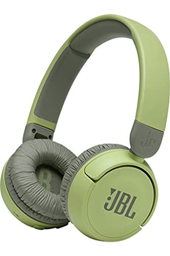 JBL Jr310 BT On-Ear Kinder-Kopfhörer in Grün – Kabellose Bluetooth-Ohrhörer mit Headset und Fernbedienung – Ideal für Schule und Freizeit