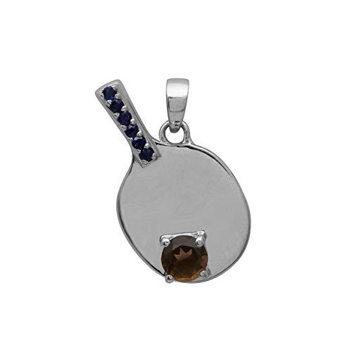 Shine Jewel Brillo joya raqueta de tenis 3 colgante diional con piedras...