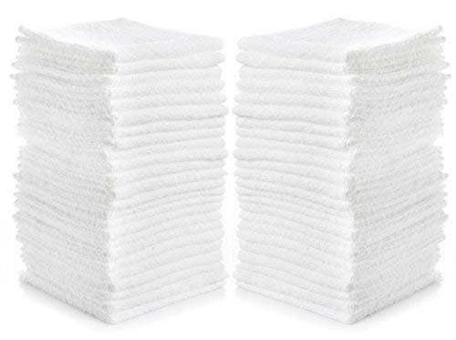 SimpliMagic 79078 Linens 12quotx12quot Washcloths White24