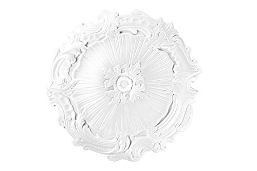 1 roseta de techo | decoración interior | poliestireno | Decora | 43 cm | DR14