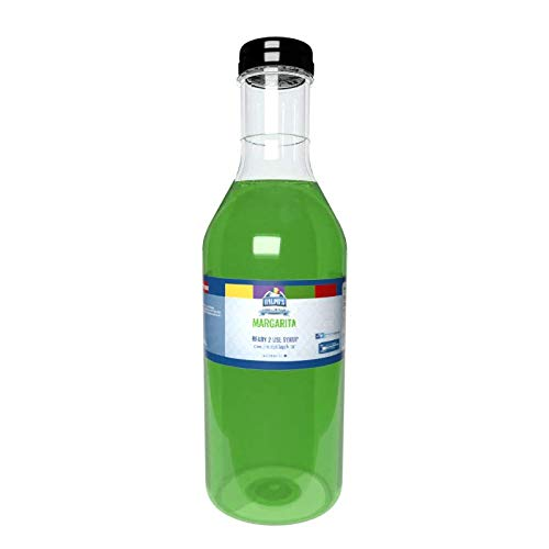Ralph's Margarita Snow Cone Syrup   32oz   Made With Pure Sugar   Easy Pour & Store Flip Cap Included (Pre-Attached)