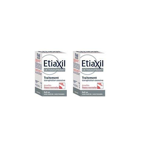 Etiaxil unpe rspirant Roll – On Treatment for armpits Normal Skins 15 ml Pack of 2pcs by ETIAXIL