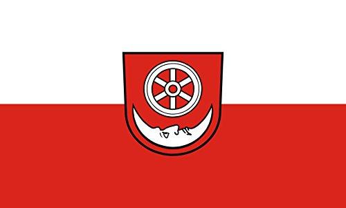 Unbekannt magFlags Tisch-Fahne/Tisch-Flagge: Bönnigheim 15x25cm inkl. Tisch-Ständer