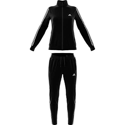 adidas WTS Team Sports Chándal, Mujer, Black/White, 2XSL