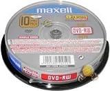 Maxell TMAX185 4.7GB DVD-RW 10pezzo(i) DVD vergine...