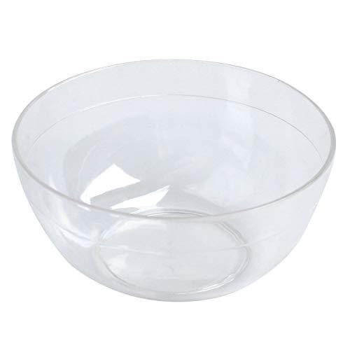 Huante Lot de 10 bols à mélanger en plastique pour soins du visage 9 cm de diamètre
