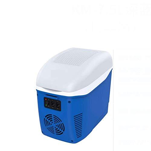 AYDQC Refrigerador de Coches, Mini refrigerador Pequeño hogar Dormitorio portátil Refrigerador refrigerador 7.5L Hogar Retro portátil, Oficina, Coche o Barco-b 30x20x27.8cm (12x8x11 Pulgada) fengong