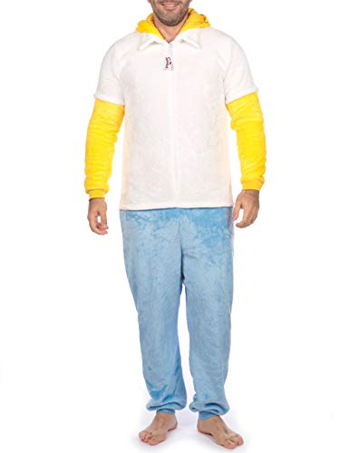 The Simpsons Pijama Entera Hombre Homer Simpson Multicolor