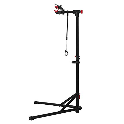 unisky Bike Repair Stand Bicycle Mechanics Maintenance Workstand Home Portable Foldable Height Adjustable with Quick Release