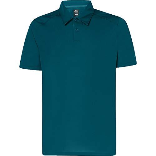 Oakley Hommes Division 2.0 Lightweight Polo de Golf - Pine Forest - M