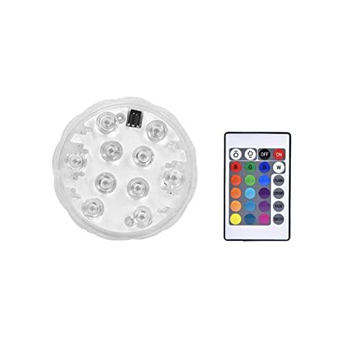 adfafw Bola Luminosa Inflable de la Piscina 60cm16 Pelota de Playa Intermitente teledirigida del Color workable