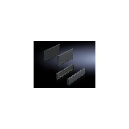 Rittal TS 8601.080–Rack-Zubehör (schwarz, Stahl, 2Stück (S), 100mm)
