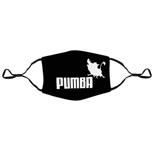 None Brand Pumba Schal Staubdichte Gesichtsabdeckung Außenstirnband Soft Magic Bandana Langlebiger UV-Schutz mit hoher Elastizität