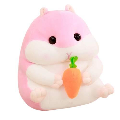 NOLOGO Hamster Puppe Gehirn Spiel (Color : Pink, Size : 30cm)